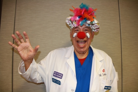 Smiling DR Clown.