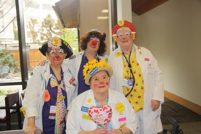 DR Clowns being happy.