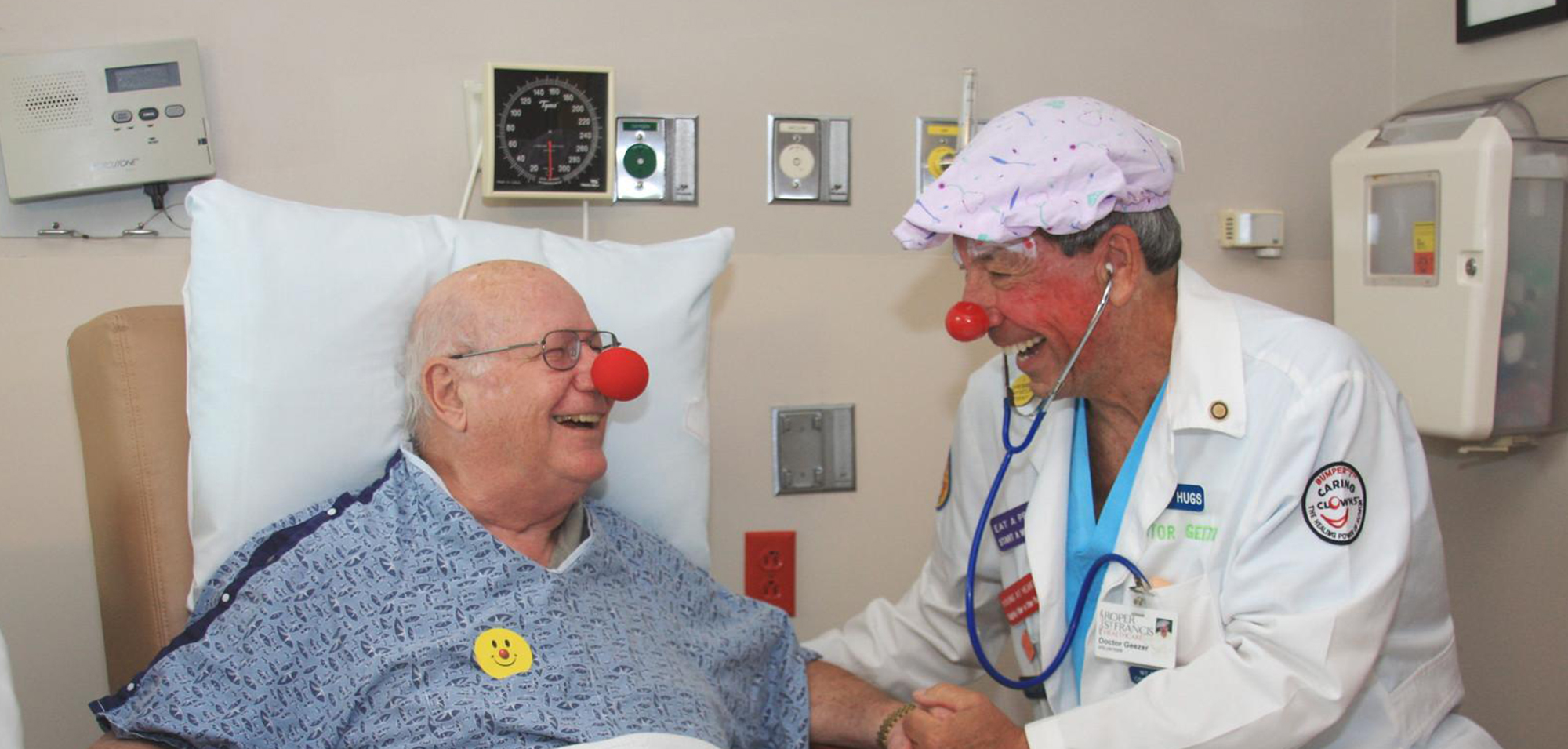 Bumper T Caring Hospital Clowns Inc.