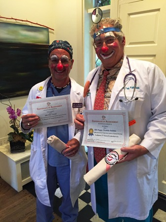 "DR Clowns with their ""qualifications""."